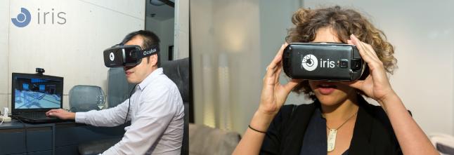 IrisVR Virtual Reality Headsets