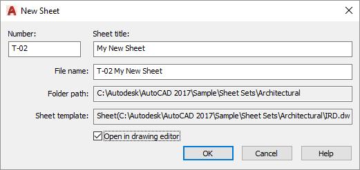 AutoCAD-Sheet-Set-New-Sheet-Dialog