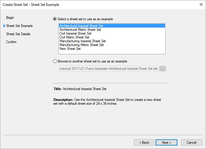 AutoCAD-Sheet-Set-New Sheet Set Example