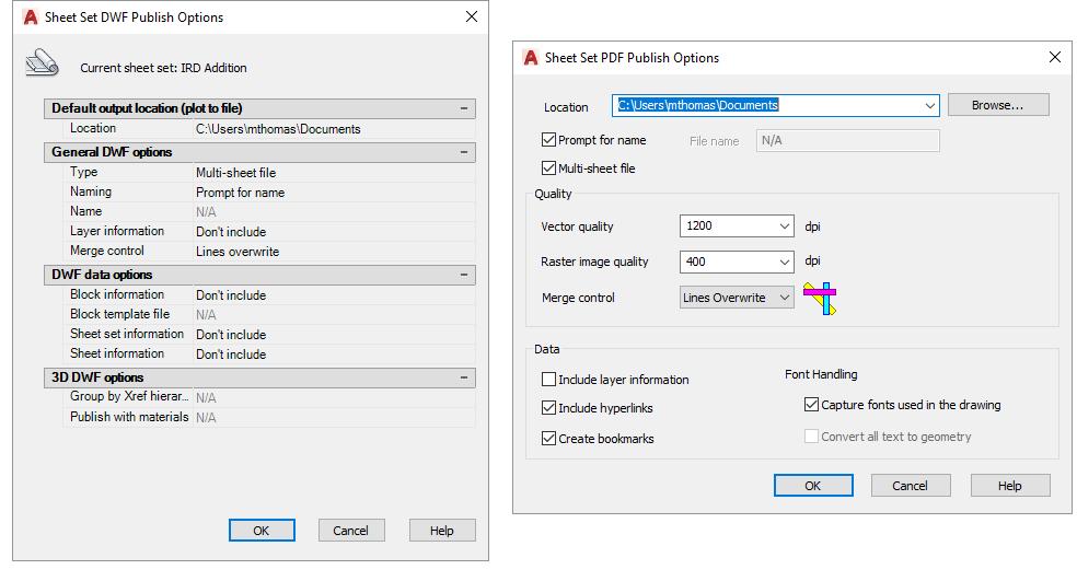 Sheet-Set-Manager-Publish-Options-PDF-DWF