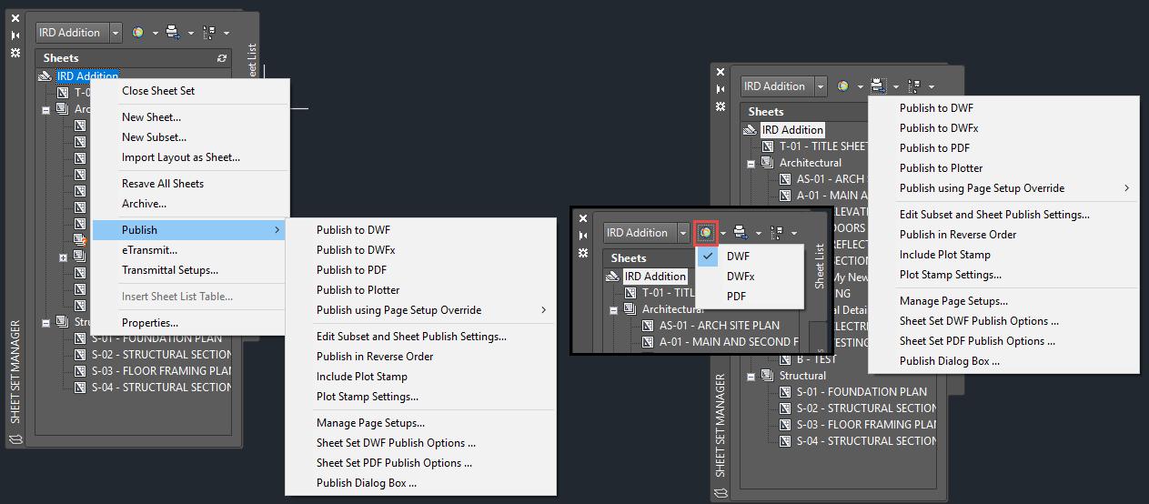 Sheet-Set-Manager-Publish-Options