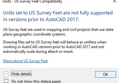 AutoCAD Civil 3D INSUNITS Scaling