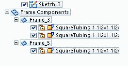 Solid Edge Frame Design