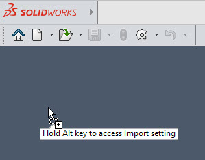 SOLIDWORKS 2022 User Interface Persistant Tooltips